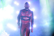 Austin Dillon, driver of the #3 Dow VORASURF Chevrolet, is introduced prior to the Monster Energy NASCAR Cup Series Federated Auto Parts 400 at Richmond Raceway on September 22, 2018 in Richmond, Virginia.