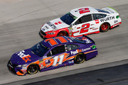 Denny Hamlin Brad Keselowski Photos Photo