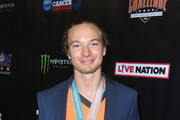 David Wise attends 50K Charity Challenge Celebrity Basketball Game at UCLA's Pauley Pavilion on July 17, 2018 in Westwood, California.