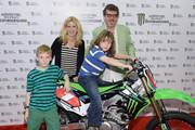 Alex McCord of Real Housewives of NYC and her husband Simon van Kempen attend the Monster Energy SuperCross World Championship Race at MetLife Stadium on April 26, 2014 in East Rutherford, New Jersey.