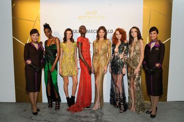 Montana Cox Etihad Airways Celebrates Runway To Runway With Special Guest Julien MacDonald Obe