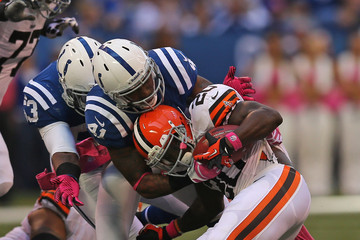 Montario Hardesty Cleveland Browns v Indianapolis Colts
