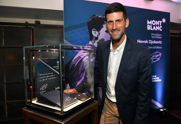 Montblanc Launches Novak Djokovic Special Edition Writing Instrument
