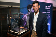 Montblanc Launches Novak Djokovic Special Edition Writing Instrument To Benefit Novak Djokovic Foundation In NYC