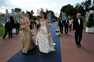 Andie MacDowell Franziska Knuppe Montblanc New Voices Award 2011 - Montblanc at Mariinsky Ball
