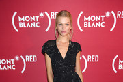 Daphne Groeneveld attends as Montblanc And (RED) Launch The New (Montblanc M)RED Collection To Fight AIDS At New York's World Of McIntosh Townhouse at  on September 27, 2018 in New York City.