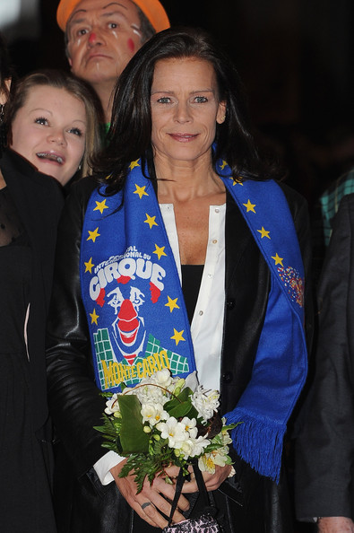 (L-R) Camille Gottlieb and Princess Stephanie of Monaco attend the Monte-Carlo 36th International Circus Festival on January 21, 2012 in Monte-Carlo, Monaco.