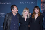 Demian Bichir, Loreen Babcock, and Ana de Armas attend CORAZON, Tribeca Film Festival public screening and red carpet event presented by Montefiore on April 22, 2018 in New York City.