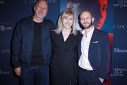Director John Hillcoat, Loreen Babcock, and Roger Wasserman attend CORAZON, Tribeca Film Festival public screening and red carpet event presented by Montefiore on April 22, 2018 in New York City.