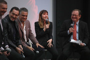Dr. Mario Garcia, Demian Bichir, Dr. Daniel Goldstein, and Ana de Armas speak onstage at CORAZON, Tribeca Film Festival Public Screening and Red Carpet Event presented by Montefiore on April 22, 2018 in New York City.