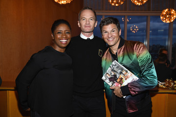 Montego Glover David Burtka Celebrates The Launch Of The Life Is A Party Cookbook In New York City With The Capital One Savor® Credit Card