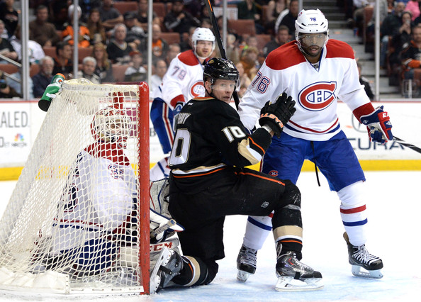 41374aacc Dustin Tokarski in Montreal Canadiens v Anaheim Ducks - Zimbio