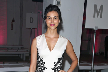 Morena Baccarin Lela Rose - Front Row - Spring 2016 New York Fashion Week: The Shows