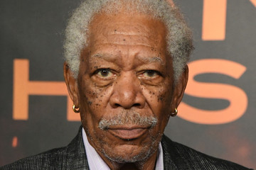 Morgan Freeman Photocall For Lions Gate's 'Angel Has Fallen'