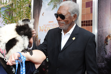 "Morgan Freeman Premiere Of Warner Bros. Pictures And IMAX Entertainment's ""Island Of Lemurs: Madagascar"" - Red Carpet"