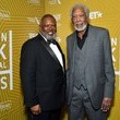 Morgan Freeman American Black Film Festival Honors Awards Ceremony - Backstage