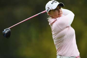Morgan Pressel Evian Championship Golf - Day One