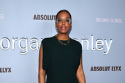 Aisha Tyler attends Alfre Woodard's 11th Annual Sistahs' Soirée Presented by Morgan Stanley With Absolut Elyx on February 05, 2020 in Los Angeles, California.