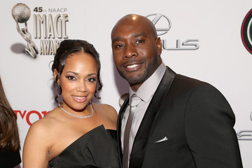 Morris Chestnut 45th NAACP Image Awards Presented By TV One - Red Carpet