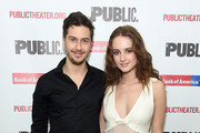 """Nat Wolff and Grace Van Patten attend the """"Mother Of The Maid"""" Opening Night Celebration at The Public Theater on October 17, 2018 in New York City."""