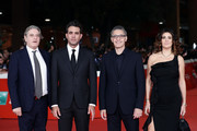 """Bobby Cannavale and John Turturro (C) attend the """"Motherless Brooklyn"""" red carpet during the 14th Rome Film Festival on October 17, 2019 in Rome, Italy."""