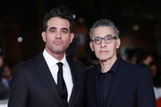 """Bobby Cannavale and John Turturro attend the """"Motherless Brooklyn"""" red carpet during the 14th Rome Film Festival on October 17, 2019 in Rome, Italy."""