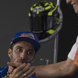 Andrea Iannone and Marc Marquez