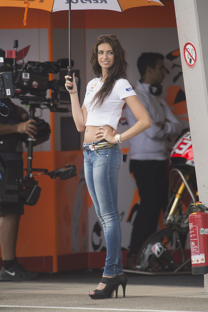 Grid Girl Photos Motogp Of Germany Practice 258 Of