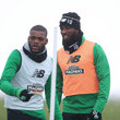 Moussa Dembele Celtic Training - Scottish Premier League