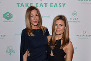 Laura Pradelksa and Zoe Hardman attend the Moving Feast pop-up brought to you by Take Eat Easy at Protein on February 11, 2016 in London, England.