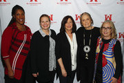 Ms. Foundation For Women President and CEO Teresa C. Younger, Jenna Bussman-Wise, Susan Dickler, Ms. Foundation For Women Founding Mother Gloria Steinem and  Cathie Hartnett attend Ms. Foundation For Women's 24th Comedy Night at Carolines on Broadway on January 13, 2020 in New York City.