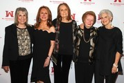 Ms. Foundation Founding Mothers Letty Cottin Pogrebin, Marlo Thomas, Gloria Steinem, Pat Carbine and Marie C. Wilson attend the Ms. Foundation For Women's Annual Gloria Awards at Capitale on May 08, 2019 in New York City.