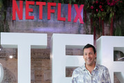 Adam Sandler poses during the press conference of the new Netflix movie 'Murder Mystery' at St. Regis Hotel on June 13, 2019 in Mexico City, Mexico.