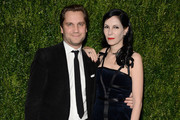 Harry Kargman and Jill Kargman attend The Museum of Modern Art Film Benefit presented by CHANEL: A Tribute to Julianne Moore at MOMA on November 13, 2017 in New York City.