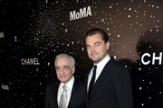 Leonardo DiCaprio Martin Scorsese Photos Photo