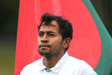 Mushfiqur Rahim New Zealand v Bangladesh - 1st Test: Day 1