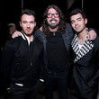 Kevin Jonas and Dave Grohl