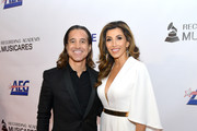 Scott Stapp (L) and Jaclyn Stapp attend MusiCares Person of the Year honoring Dolly Parton at Los Angeles Convention Center on February 8, 2019 in Los Angeles, California.