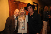 Scott Hamilton, Tracie Robinson, and Clint Black attend Music Builds: the CMT Disaster Relief Concert on May 12, 2011 in Nashville, Tennessee.
