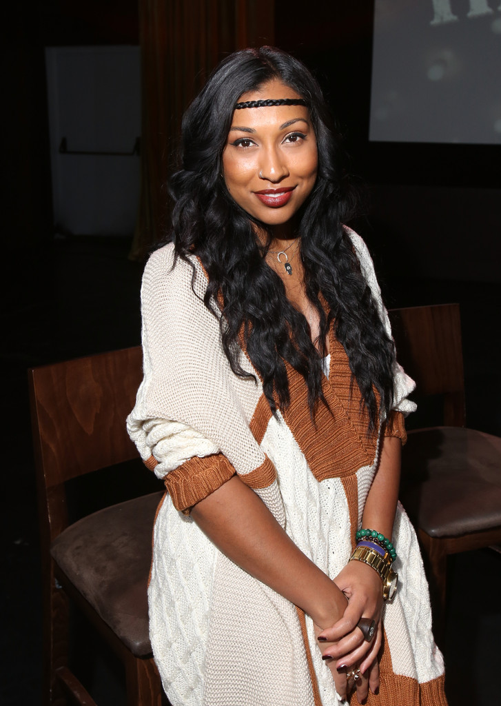 Recording artist Melanie Fiona attends Music Choice Celebrates Black History Month With The Next Generation Of R&B Divas at MIST Harlem on January 29, 2014 in New York City.