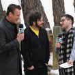Jason Segel got to be an MTV News anchor for the day.