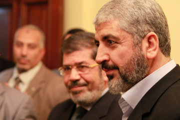 Khaled Meshaal Muslim Brotherhood Movement Claims Victory In The Egyptian Parliamentary Election