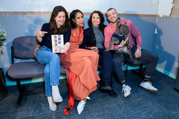 Myanna Buring 'Character Breakdown' By Zawe Ashton - Book Launch