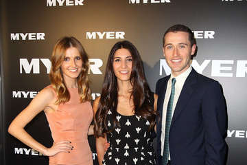 Hoda Vakili Myer A/W 2012 Collection Launch - Arrivals
