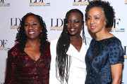 Sherrilyn Ifill, Lupita Nyong'o, and Nina Shaw attend the NAACP LDF 33rd National Equal Justice Awards Dinner at Cipriani 42nd Street on November 07, 2019 in New York City.