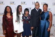Sherrilyn Ifill, Lupita Nyong'o, Cicely Tyson, B. Michael, and Janai Nelson attend the NAACP LDF 33rd National Equal Justice Awards Dinner at Cipriani 42nd Street on November 07, 2019 in New York City.