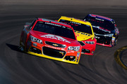 Dale Earnhardt Jr. and Joey Logano Photos Photo
