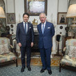 Prince Charles and Guiseppe Conte Photos