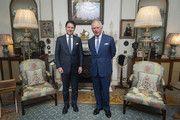 Prince Charles and Guiseppe Conte Photos Photo
