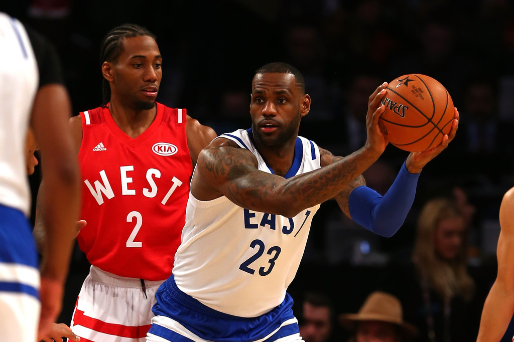 online store 89c5a fd9eb Kawhi Leonard Photos Photos - NBA All-Star Game 2016 - Zimbio